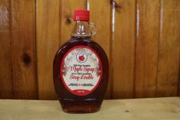 Bottle of Vosin's traditional maple syrup