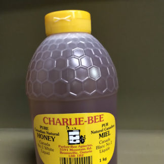 Charlie-Bee pure natural honey in a squeeze bottle