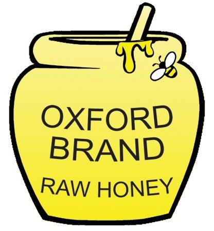 Oxford brand raw honey logo