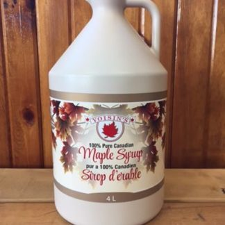 4L Jug of Voisin's 100% pure Canadian maple syrup