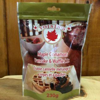 Voisin's maple cinnamon pancake & waffle mix